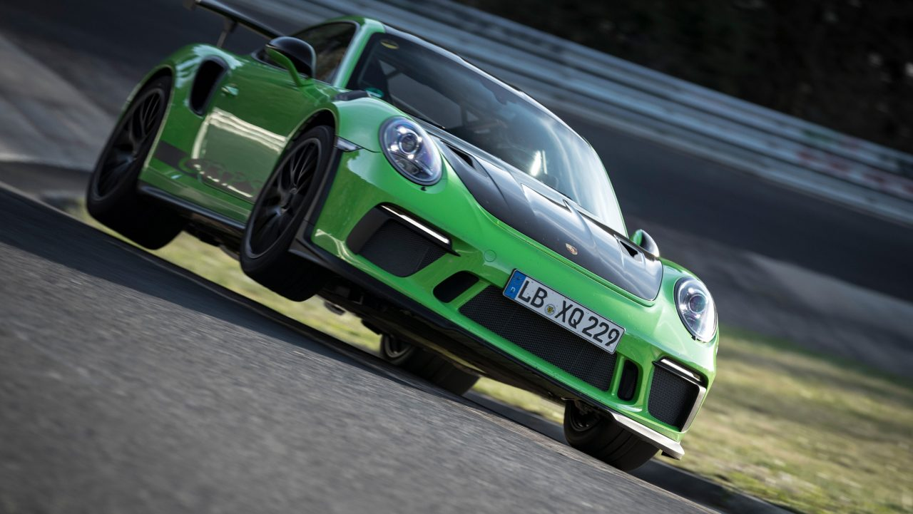 Porsche 911 GT3 RS Nurburgring Lap Record