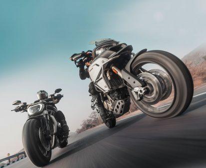 Ducati Multistrada vs xDiavel