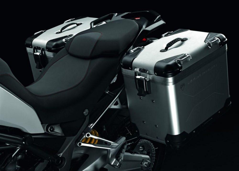 Ducati Multistrada Aluminium Panniers Touratech