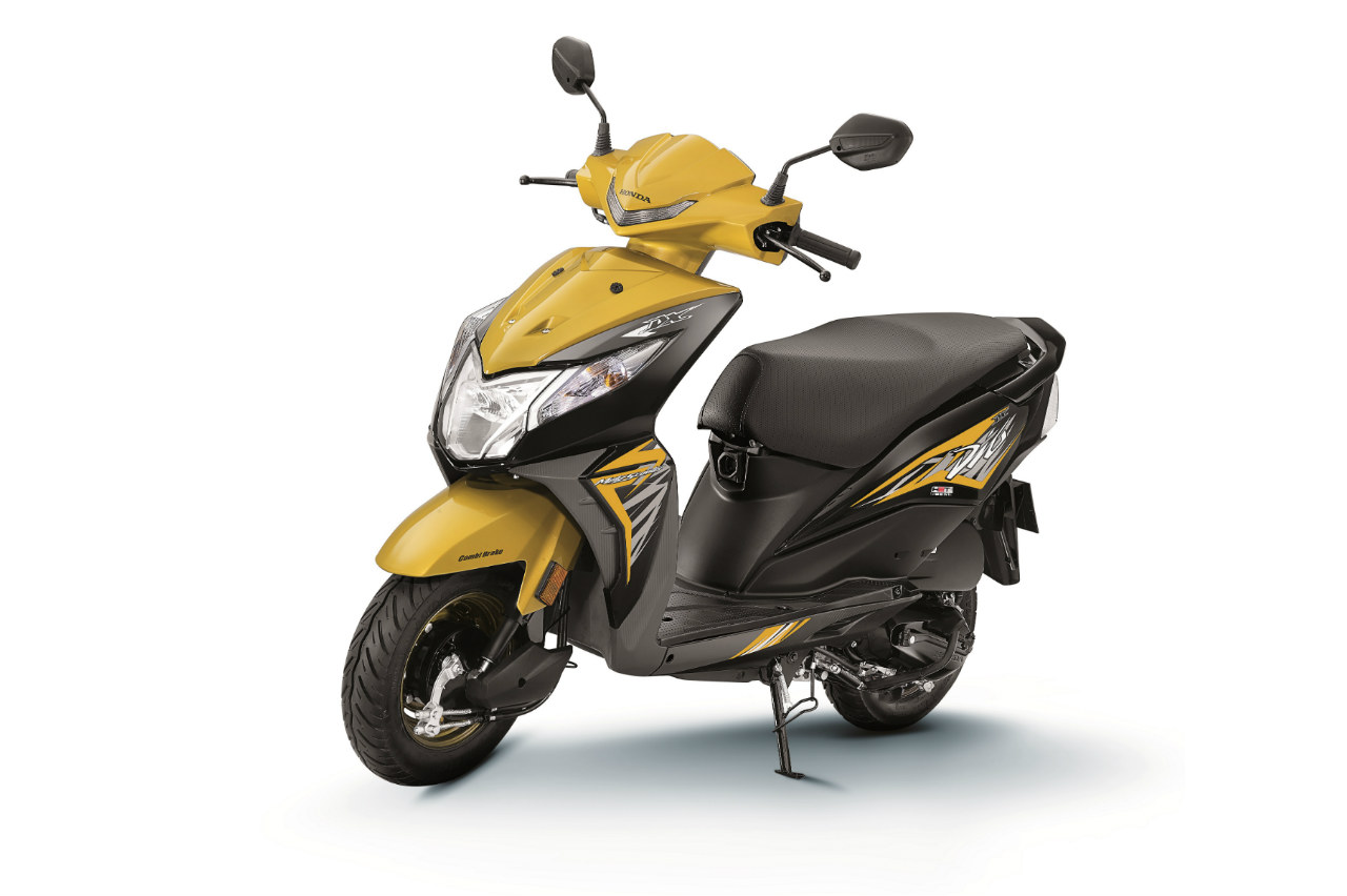 Honda Dio with new features launched at Rs. 51292