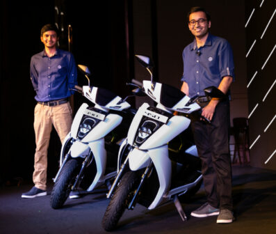 Ather Energy Scooters Launched in India