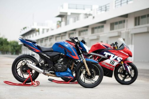TVS Apache TVS Racing
