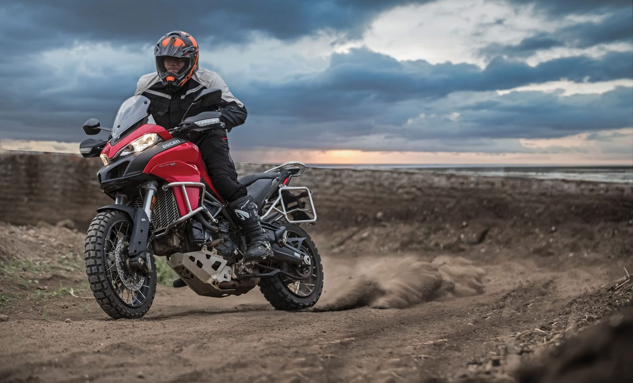 hammer down ducati multistrada 950 enduro pack first ride. Black Bedroom Furniture Sets. Home Design Ideas