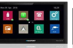 Blaupunkt Monte Carlo 750 Apple CarPlay Android Auto