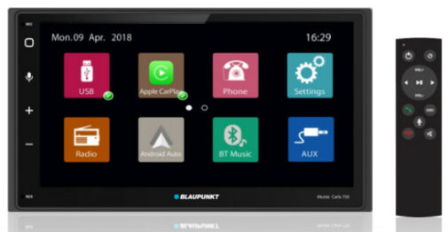 Blaupunkt Monte Carlo 750 Apple CarPlay Android Auto