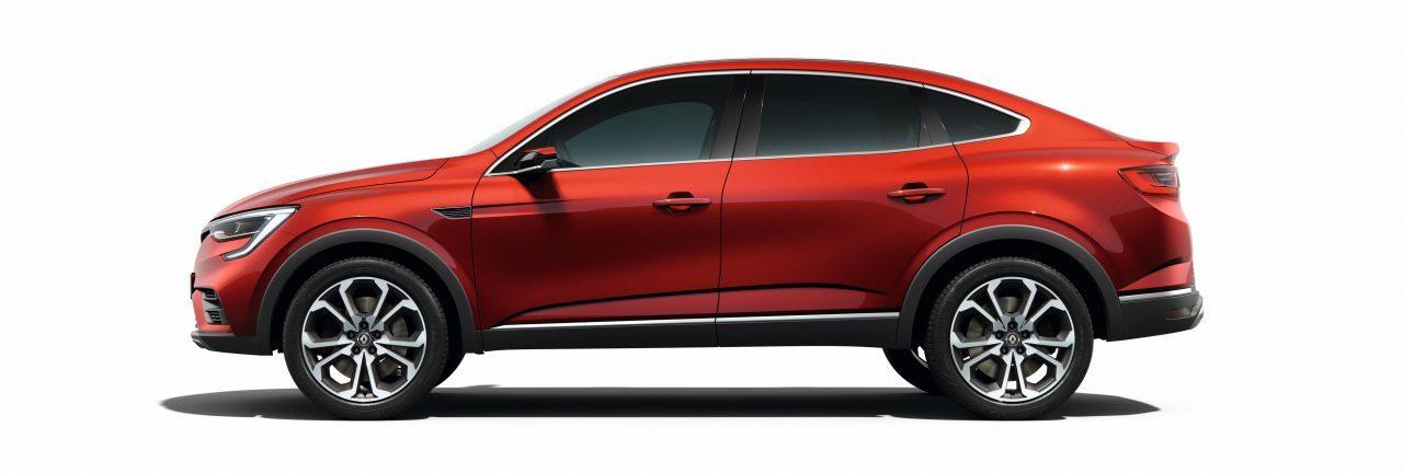 Renault Arkana SUV Coupe Side