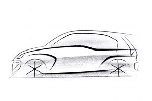 Hyundai AH2 Design Sketch 2019 Hyundai Santro