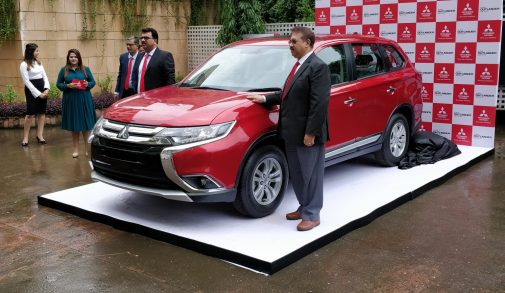 Mitsubishi Outlander India launch
