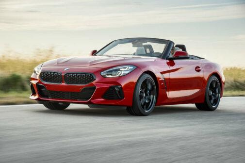 2019 BMW Z4 Front