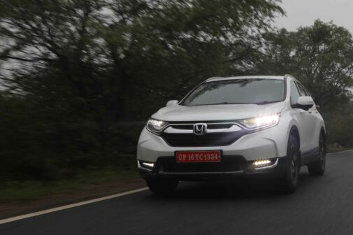Honda CR-V Petrol Review India 2018