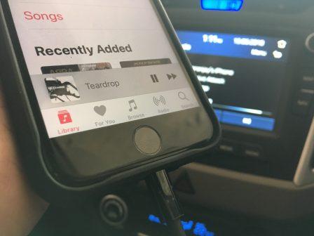Belkin iPhone audio connector