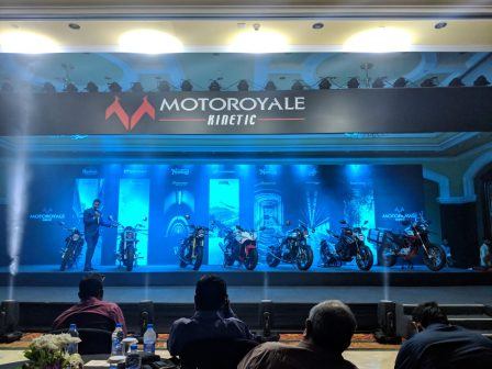 Motoroyale Kinetic India