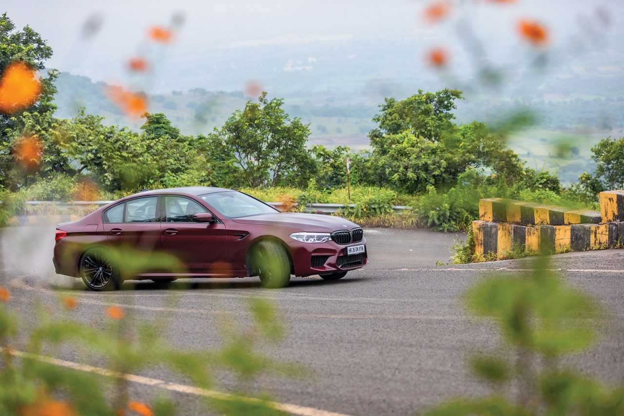 BMW M5 Review India Sideways Drift Powerslide