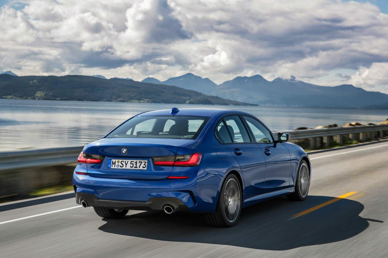 BMW 3 Series G20 rear