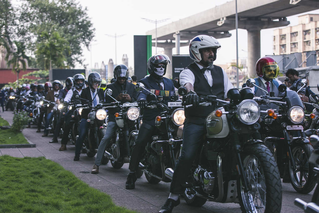 Triumph Distinguished Gentleman's Ride 2018