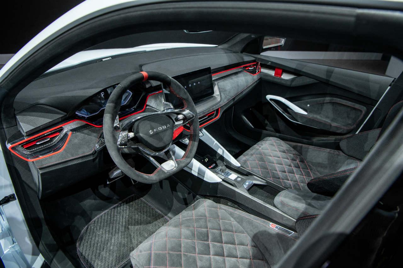 Skoda Vision RS interior