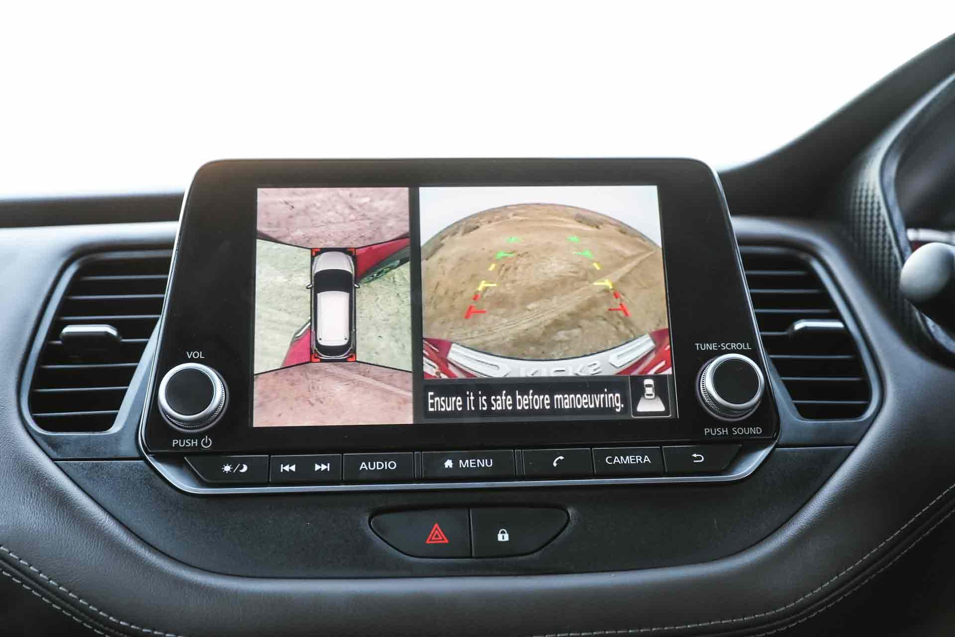 2019 Nissan Kicks Infotainment 360 Camera