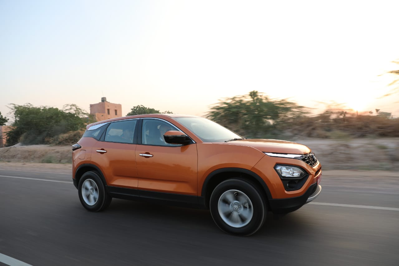 Tata Harrier India Review Side