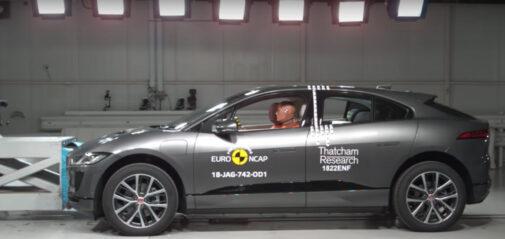 Jaguar I-PACE Crash Test