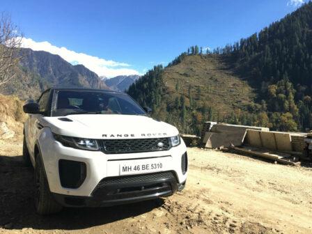 Range Rover Evoque Convertible Himalayas