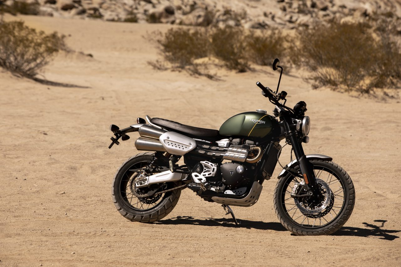 Triumph Scrambler 1200 XC: Review In Pictures