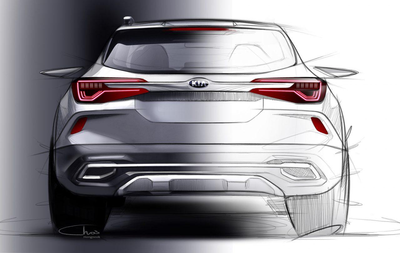 Kia SP Concept Compact SUV India