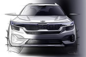 Kia SP Concept Compact SUV India