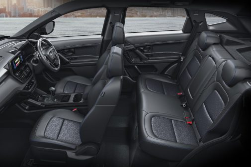Tata Harrier Dark interior