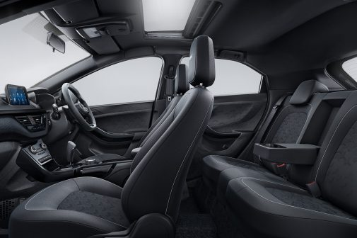 Tata Nexon Dark interiors