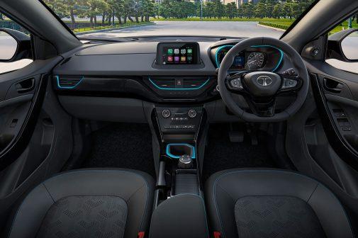 Tata Nexon EV Dark interior